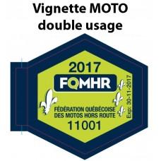 Passe de sentier FQMHR (MOTO)